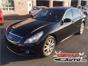 Infiniti G37 XS Sport AWD Cuir Toit Ouvrant MAGS 2011