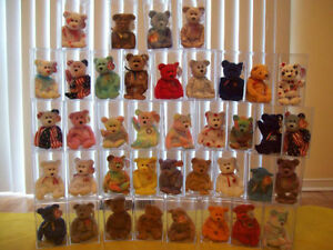 =  = Over 50 Collectable Beanie Babies = =Minimum $28.00