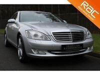 2007 07 MERCEDES-BENZ S CLASS 5.5 S500 4D AUTO 383 BHP