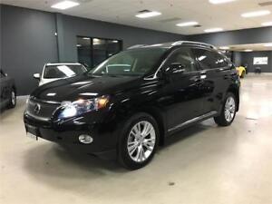 2010 Lexus RX 450h*NAV*LEATHER*BACK-UP CAM*FULLY SERVICED*
