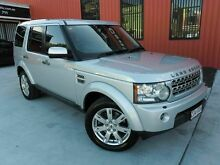 2010 Land Rover Discovery 4 Series 4 10MY TdV6 CommandShift SE Silver 6 Speed Sports Automatic Wagon Molendinar Gold Coast City Preview