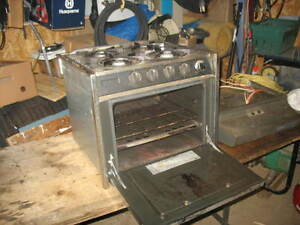 Propane stove and Oven