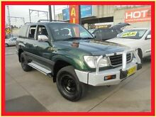1999 Toyota Landcruiser FZJ105R GXL Green 4 Speed Automatic Wagon Holroyd Parramatta Area Preview