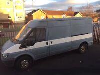 Ford Transit 90 T280. 2003. 2.4 Diesel. MOT until Dec 17. 163k miles. £1500.
