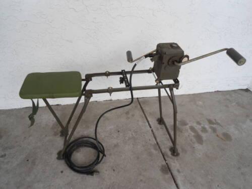 Chinese Army Hand Crank Generator