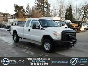 2014 FORD F-350 SUPER DUTY XL EXTENDED CAB LONG BOX 4X4 1 TON