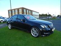 2012 Mercedes-Benz C Class 2.1 C220 CDI BlueEFFICIENCY AMG Sport 4dr (Map