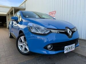 2015 Renault Clio IV B98 Expression+ EDC Blue 6 Speed Sports Automatic Dual Clutch Hatchback Port Adelaide Port Adelaide Area Preview