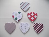 """5o small hearts """"strips and dots"""""""