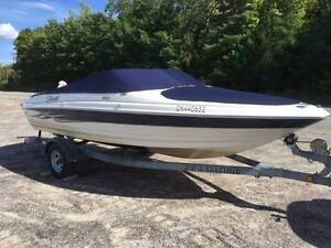 Seaswirl Bow Rider with EZ loader trailer