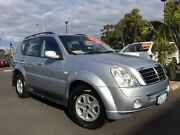 2007 Ssangyong Rexton Y220 II MY07 RX270 Sports Silver 5 Speed Sports Automatic Wagon Bunbury Bunbury Area Preview