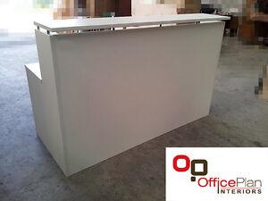 Reception desk counter 1800l office desk office furniture desks ebay - Reception desk ebay ...