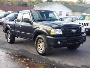 2010 Ford Ranger Sport 4x4 ! new mvi + warranty WITH A/C!!!