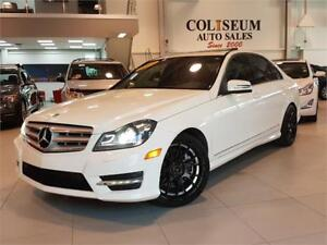 2013 Mercedes-Benz C 300 4MATIC-BLACK RIMS-NAVIGATION-ONLY 89KM