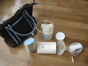 Breast milk pump (electric) miPump+25 storage bags+baby bath