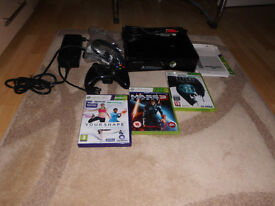xbox 360 console with built in wifi