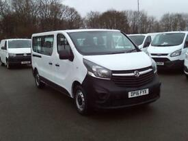 Vauxhall Vivaro Combi Cdti S/S 123PS DIESEL MANUAL WHITE (2016)