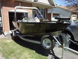 2015 17ft princecraft expedition complete fishing package