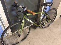"""Jamis Hybrid 18"""" Frame Bike - serviced with new tyres!"""