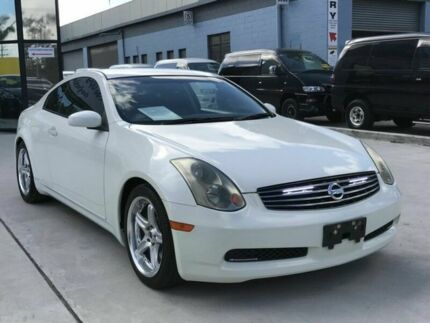 2006 Nissan Skyline 350GT Premium White 5 Speed Tiptronic Coupe Taren Point Sutherland Area Preview