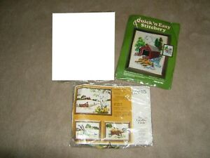 VINTAGE EMBROIDERY KITS