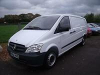 MERCEDES VITO 113 CDI X LONG White Manual Diesel, 2014