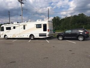 Luxury tow vehicle completely set up with Blue Ox and Braking