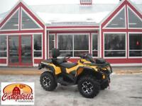 2016 CAN AM OUTLANDER MAX XT 850 Moncton New Brunswick Preview