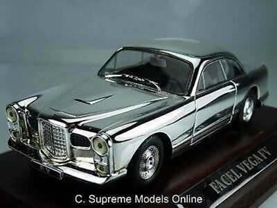FACEL VEGA FV MODEL CAR 1/43RD SIZE 2 DR CLASSIC FRENCH TYPE PLATED Y0675J^*^ for sale  Shipping to Ireland