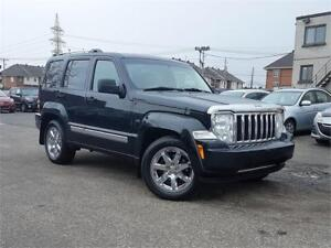 2010 Jeep Liberty LIMITED 4X4/CUIR/MAGS+8PNEUS/AC/CRUISE/FULL