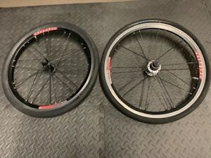 "20"" VELOCITY SPARTICUS URIEL BICYCLE RACING WHEELS"