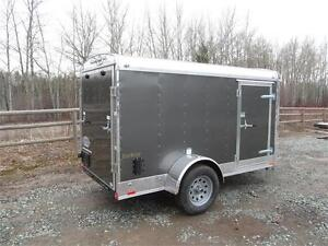"""5' x 10 ' ENCLOSED WITH 6"""" EXTRA HEIGHT & RAMP"""