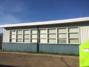Two portable classrooms available to be moved.