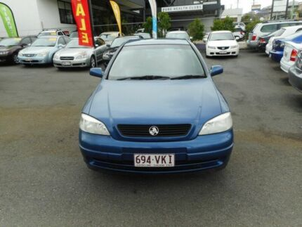 2001 Holden Astra TS CD Blue 4 Speed Automatic Sedan