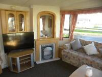 Static caravan available to purchase on a 12 month holiday park Withernsea Sands