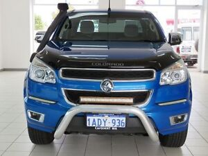 2012 Holden Colorado RG LTZ (4x4) Blue 6 Speed Automatic Spacecab Morley Bayswater Area Preview