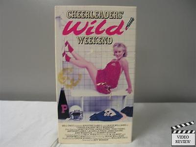 Cheerleader's Wild Weekend VHS Kristine DeBell, Jason Williams