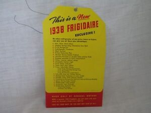 Pos 1938 frigidaire refrigerator general motors Fridge motors for sale