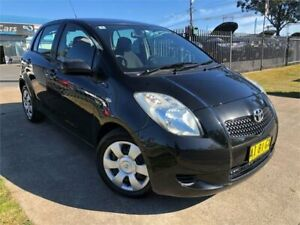 2006 Toyota Yaris NCP91R YRS Black Automatic Hatchback Mulgrave Hawkesbury Area Preview