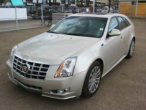 2014 Cadillac CTS AWD RARE WAGON LOW KM FINANCE AVAILABLE