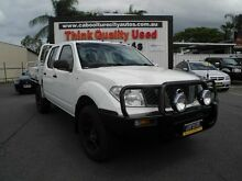 2007 Nissan Navara D40 RX White 5 Speed Automatic Utility Caboolture South Caboolture Area Preview