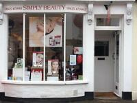 Temporary Part - Time Experienced Level 3 Qualified Beauty Therapist