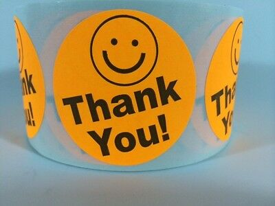 500 THANK YOU LABEL SMILEY 2