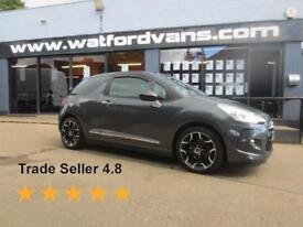 2014 Citroen DS3 1.6 e-HDi Airdream DStyle Plus 2dr *Fully Loaded* Diesel grey M