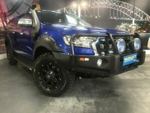 2015 Ford Ranger PX XLT Hi-Rider Blue Manual Utility Prospect Blacktown Area Preview