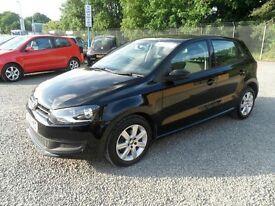 2010-2014 Volkswagen Polo 5 Door Black Breaking