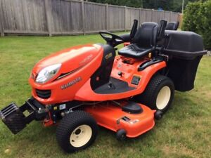 """2018 Kubota GR2120 54"""" Tractor - 4WD Diesel with low hours!"""