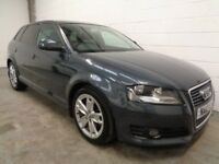 AUDI A3 DIESEL , 2010 **FINANCE AVAILABLE ** ONLY 44000 MILES + HISTORY ** YEARS MOT , WARRANTY