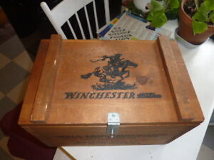 """""""Winchester"""" Ammo Crate.....Timmins Area Delivery"""