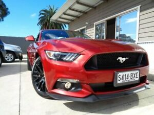 2016 Ford Mustang FM 2017MY GT Fastback SelectShift Red 6 Speed Sports Automatic Fastback Enfield Port Adelaide Area Preview